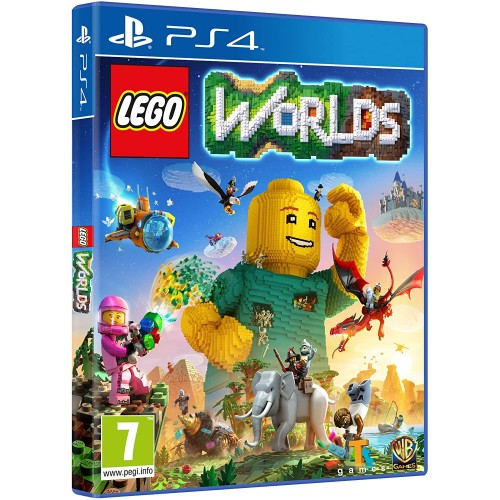 Videogame Lego Worlds per PS4