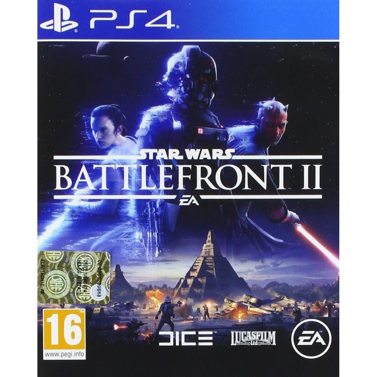 Videogame Star Wars Battlefront II per PlayStation 4
