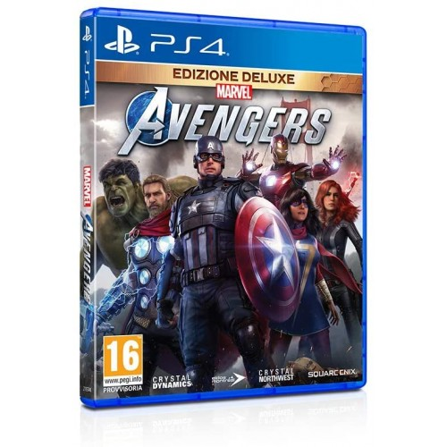 Videogame Marvels Avengers per PlayStation 4