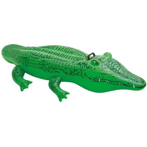 Cavalcabile Alligatore da 168 x 86 cm, materassino gonfiabile
