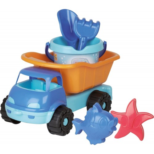 Giocattolo Camion da spiaggia con secchiello e formine