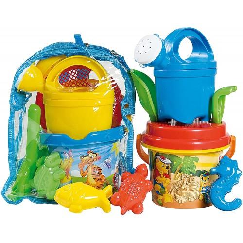 Set giochi spiaggia con zaino Winnie The Pooh