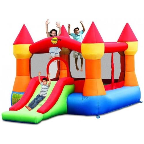 Gonfiabile Castello con scivolo per bambini
