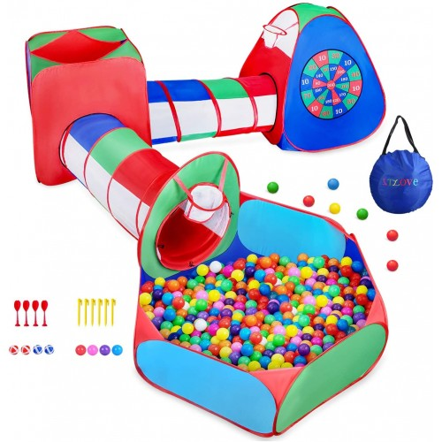 Tenda Gioco e Play Tent Tube pieghevole e vasca palline