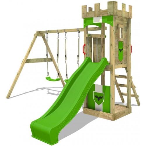 Parco giochi con altalena doppia e scivolo, Mondo Cavalieri