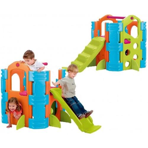 Parco giochi in PVC per bambini, attività multiple