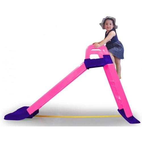Scivolo Funny Slide con scarico antiscivolo finale per atterraggio