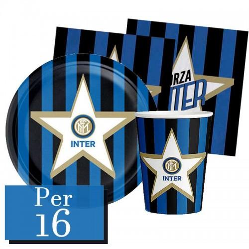 Kit 16 persone F.C Inter