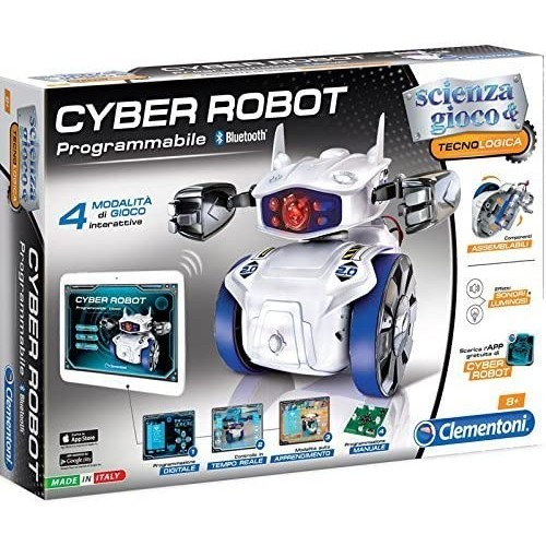 Cyber Robot didattico - Clementoni, giocattolo educativo