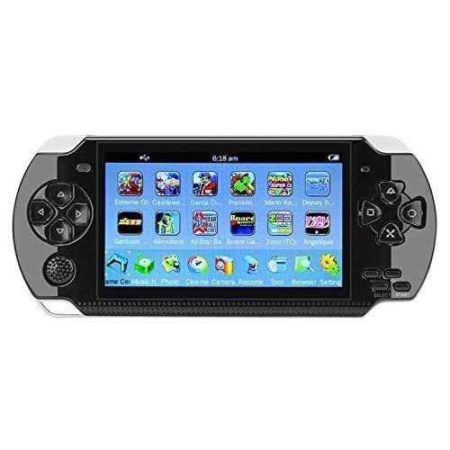 """Console portatile da 4.3 """" con 10GB e 100 giochi integrati - QUMOX"""