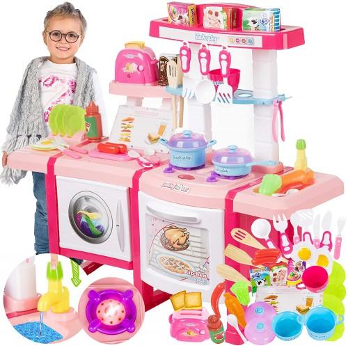Cucina Giocattolo con suoni, luci e acqua - Kinderplay