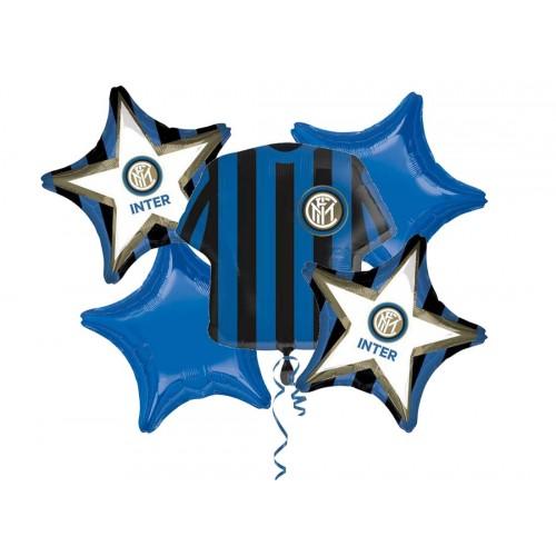 Bouquet palloncini F.C Inter per feste