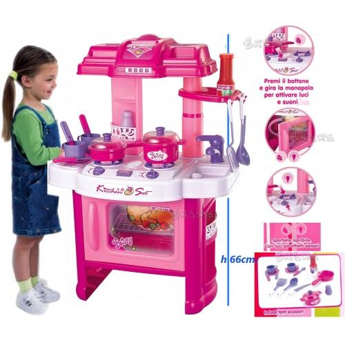 Cucina giocattolo Mio Piccolo Chef, con accessori inclusi