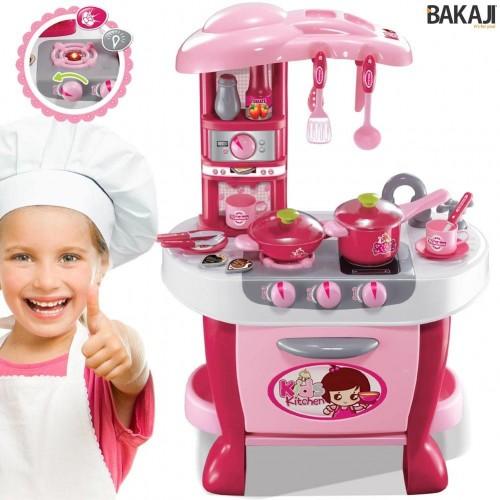 Cucina giocattolo con luci e suoni - BAKAJI