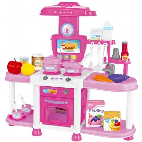 Cucina playset con luci e suoni per bambini