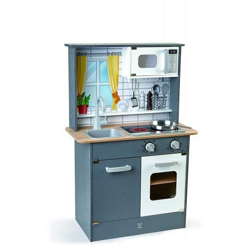 Cucina giocattolo Top Chef Grigia - Hape