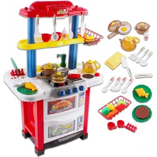 Cucina Happy Little Chef con accessori - deAO
