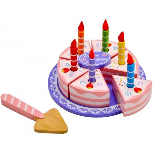 Torta di Compleanno giocattolo con accessori