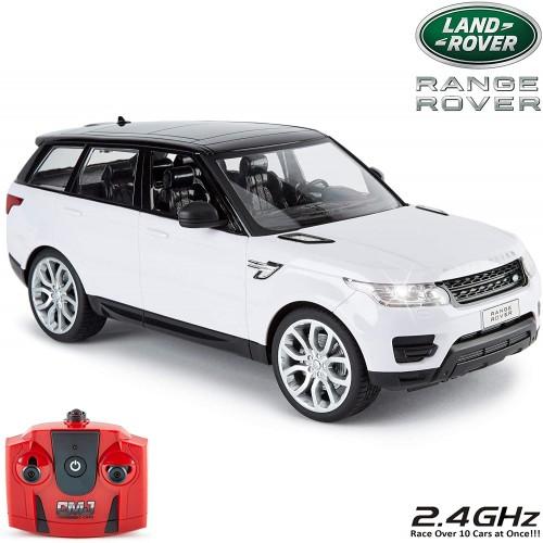 Range Rover Sport bianco elettrico telecomandato