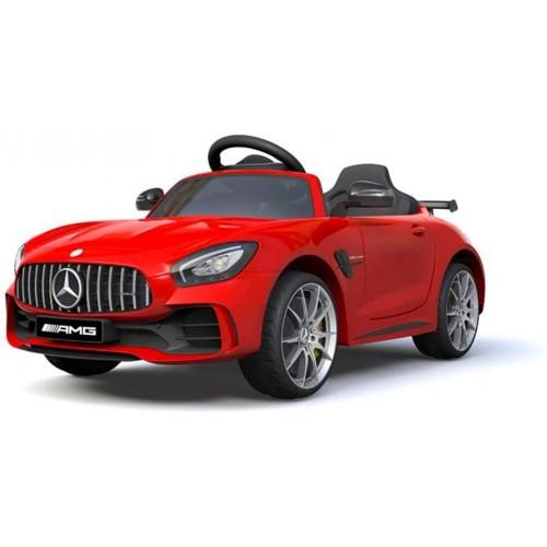 Macchina Elettrica per Bambini 12V - Mercedes AMG GTR rossa