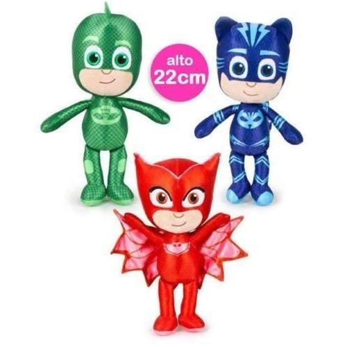 3 Peluche Super Pigiamini
