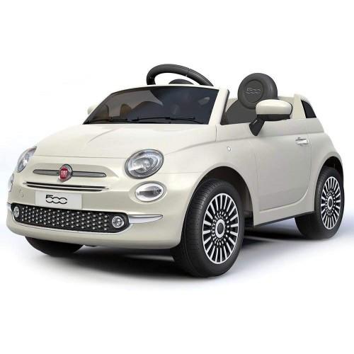 Auto elettrica Fiat 500 cabrio per bambini