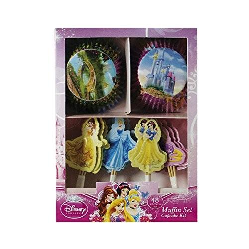 Set per Muffin Principesse Disney