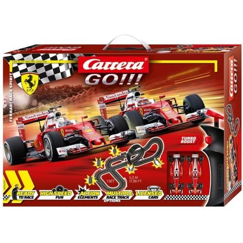 Pista da corsa elettrica Ferrari Race Spirit F1 - Carrera