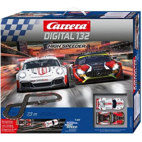 Pista da corsa elettrica High Speeder Digital 132 - Carrera