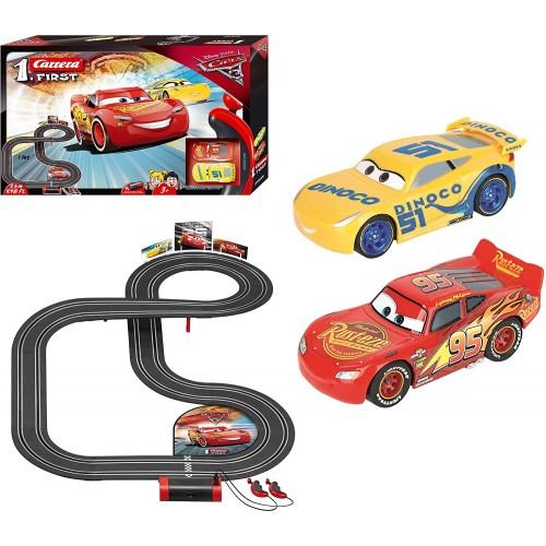Pista da corsa elettrica Cars 3 - Disney Pixar