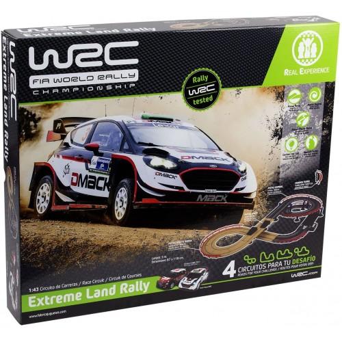 Pista da corsa elettrica Extreme Land Rally