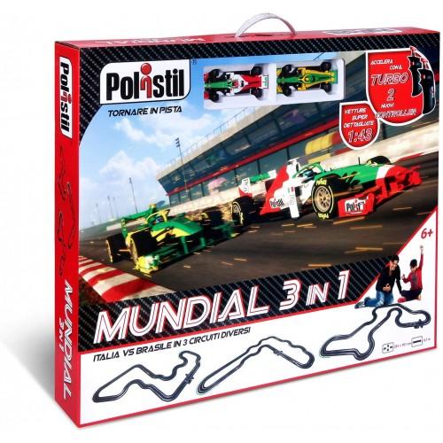 Pista da corsa elettrica 3 in 1 Mondiale Formula 1