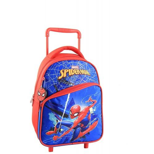 Trolley Backpack di Spiderman da 38 cm con ruote