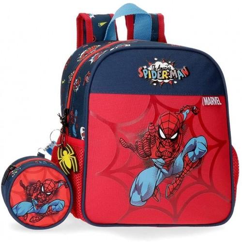 Zaino con maniglie per asilo di Spiderman - Marvel