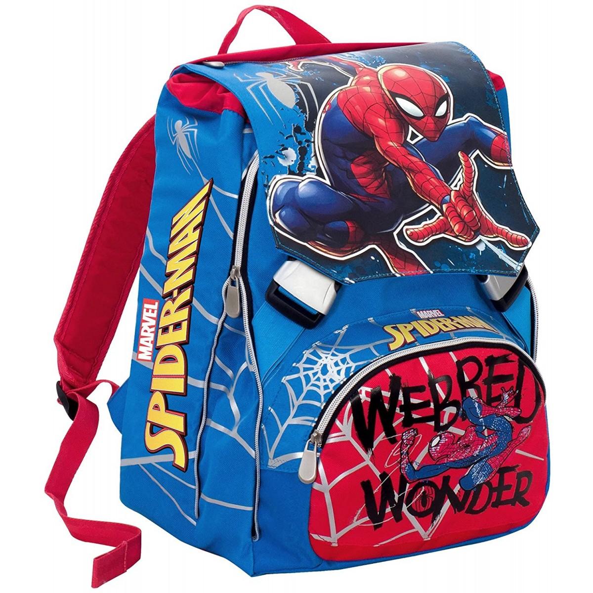 Zaino scuola estensibile Ultimate Spiderman - Marvel