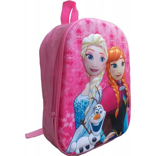 Zaino 3D Frozen Disney per l'asilo