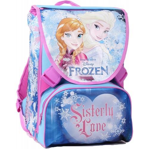 Zaino Frozen sdoppiabile per la scuola, con gadget omaggio
