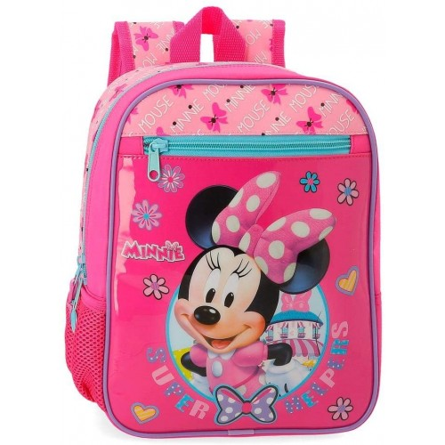 Zainetto Minnie Mouse Disney magenta e rosa