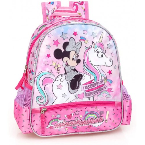 Zaino asilo Disney Minnie Unicorno