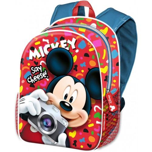 """Zainetto Mikey Mouse per la scuola """"Say Cheese"""""""