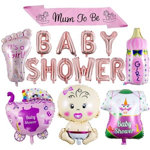 Bouquet palloncini festa a tema Baby Shower