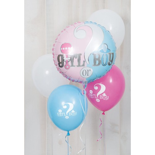 Palloncino foil tema Shower baby