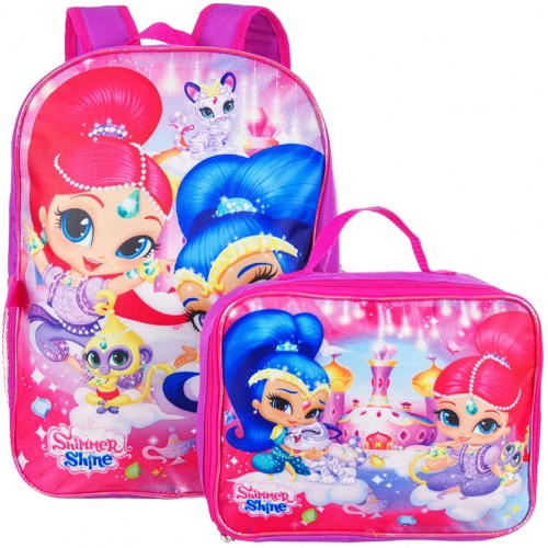 Zaino con lunch box Shimmer e Shine