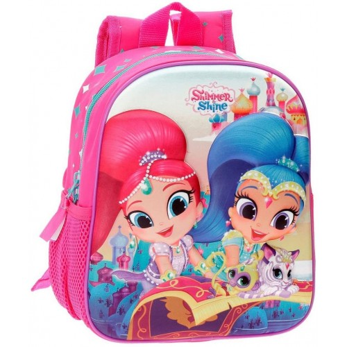 Zainetto asilo frontale 3D - Shimmer and Shine