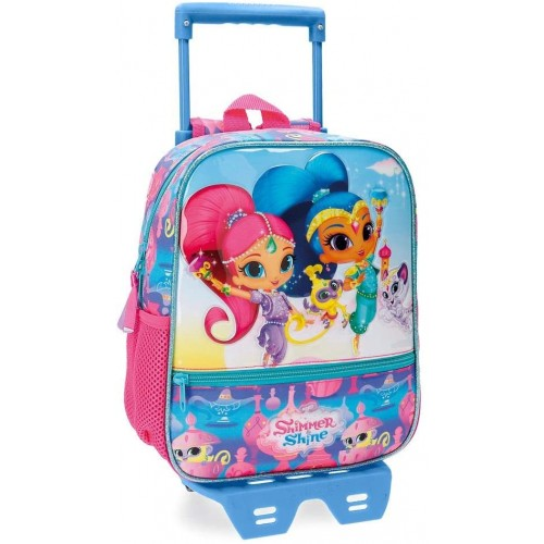 Zainetto asilo con carrello Shimmer and Shine Twinsies