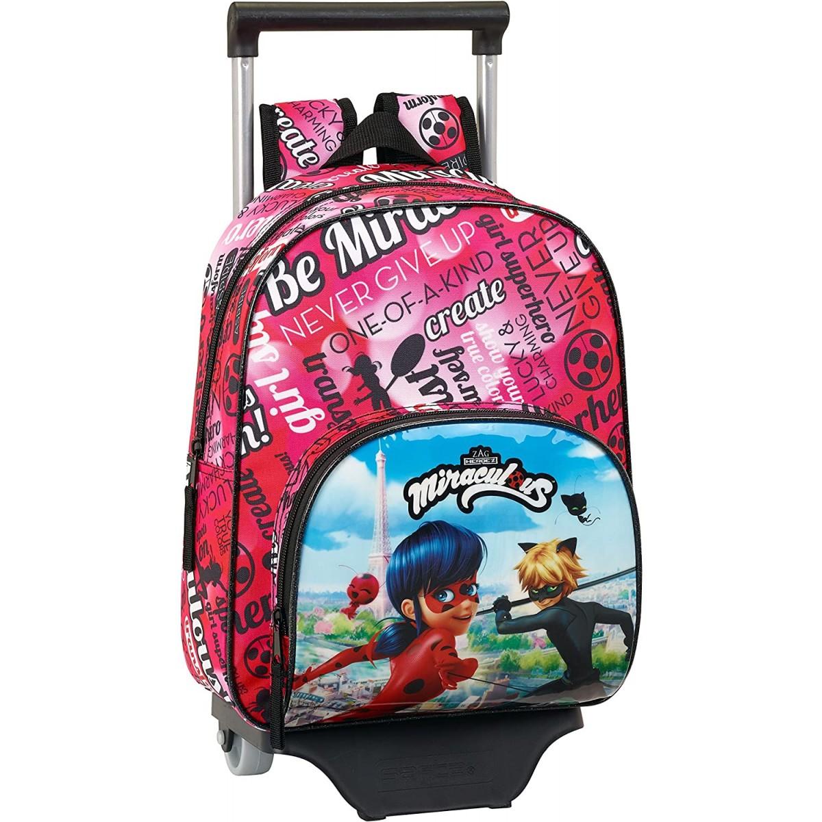 Trolley con rotelle Ladybug & Cat Noir