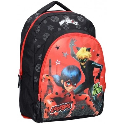 Zaino Scuola elementare Miraculous Ladybug e Cat Noir