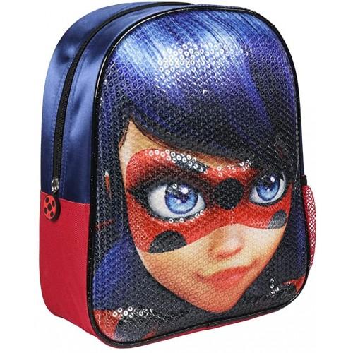 Zaino borsa 3D Lady Bug con paillettes