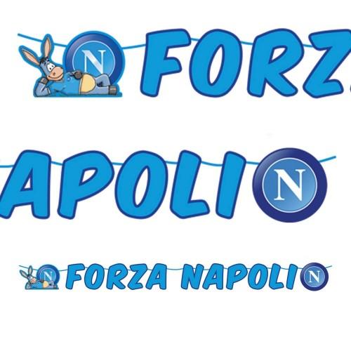 "Festone ""Tanti auguri"" SSC Napoli"