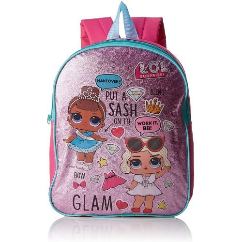 Zaino in PVC con glitter L.O.L. Surprise per la scuola